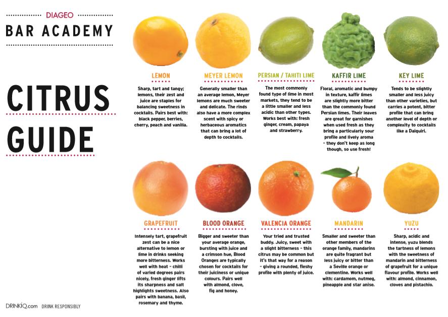 Citrus Flavour Guide
