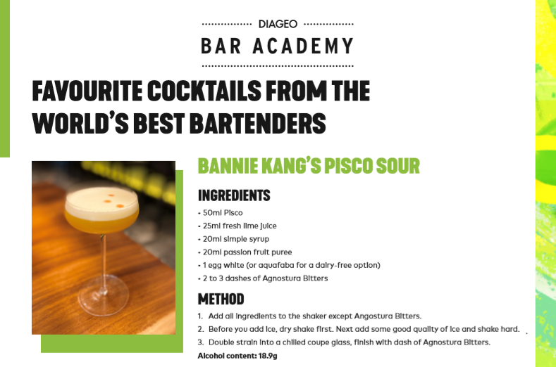 Worlds Best Bartenders Favourite Cocktails
