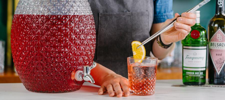 Bar Initiatives header image batching cocktails