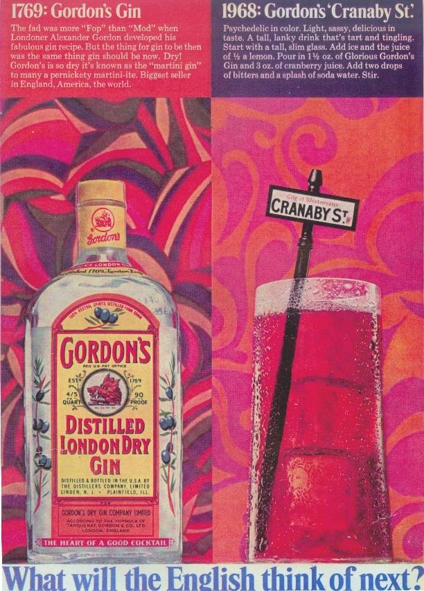 250 anos do gin Gord