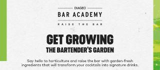 GET GROWING   THE BARTENDER'S GARDEN