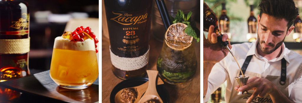 Zacapa brand page - header image
