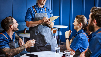 HOW TO MANAGE YOUR STAFF AND BUSINESS IN CHALLENGING TIMES