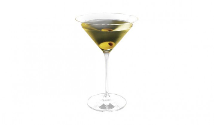 Ketel One Vodka Dirty Martini cocktail