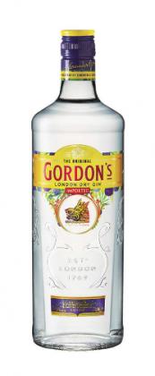 A bottle of Gordon's Gin