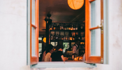 WHAT DO YOU LOOK FORWARD TO ONCE YOUR BAR REOPENS?