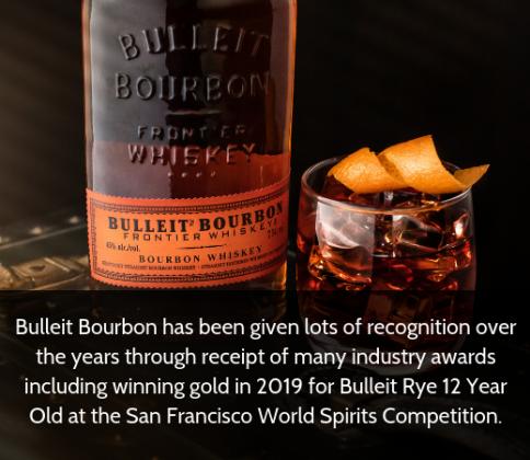 Bulleit - Bourbon Interesting Facts