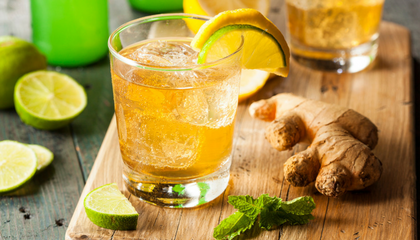 MOCKTAILS CON GINGER BEER