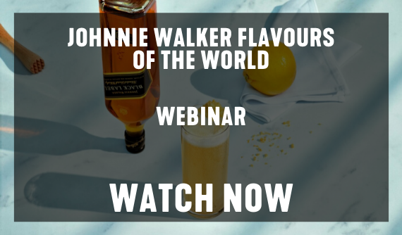 JOHNNIE WALKER FLAVORS OF THE WORLD