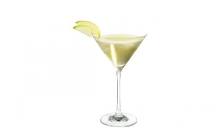 Apple Martini with Smirnoff