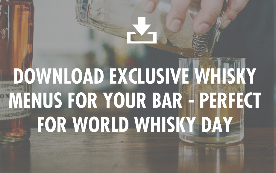 Download World Whisky Day Menus here