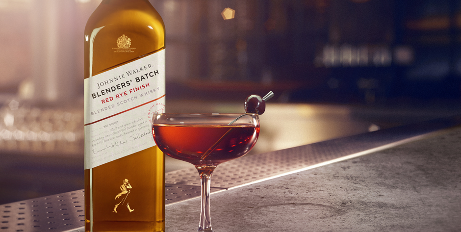 Descubre Johnnie Walker Blenders' Batch Red Rye Finish