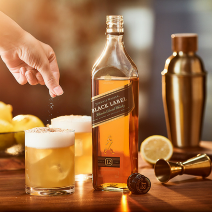 JOHNNIE WALKER BLACK LABEL SERVES FOR A FRANTIC FESTIVE SEASON