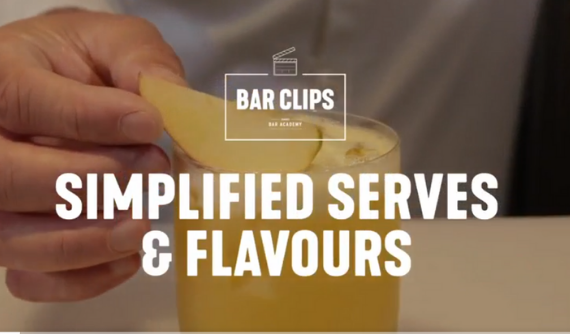 SIMPLIFIED SERVES AND FLAVORS