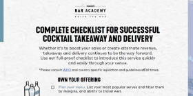 Takeaway & Delivery Checklist