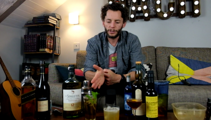 BAR CLIPS: WHISKY COCKTAILS WITH TRISTAN STEPHENSON