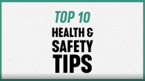TOP 10 HEALTH AND SAFETY TIPS