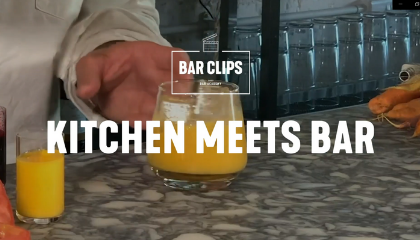 KITCHEN MEETS BAR