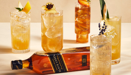 JOHNNIE WALKER FLAVOURS OF THE WORLD