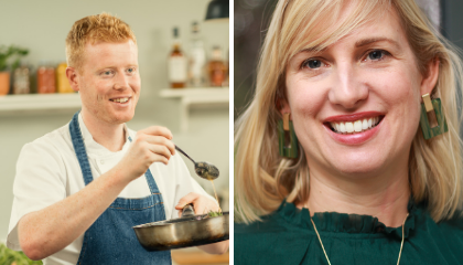 NUTRITION 101 - MARK MORIARTY & KIRSTEN BROOKES