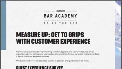 MEASURE UP: GET TO GRIPS WITH CUSTOMER EXPERIENCE