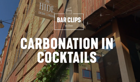 CARBONATION IN COCKTAILS