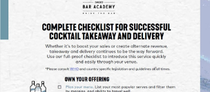 Checklist for Takeaway & Delivery