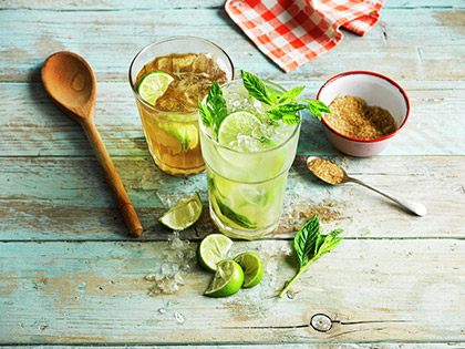 THE STORY BEHIND THE MOJITO
